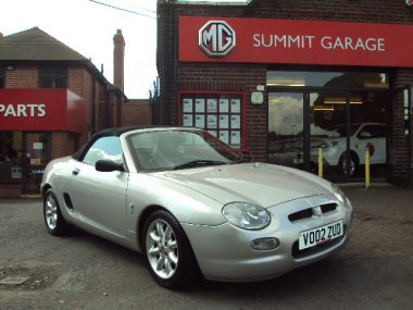 mgf- 1.6i- 2- seater- convertible