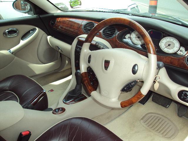 2003 03  rover 75 2 5v6 connoisseur limousine auto 4dr in