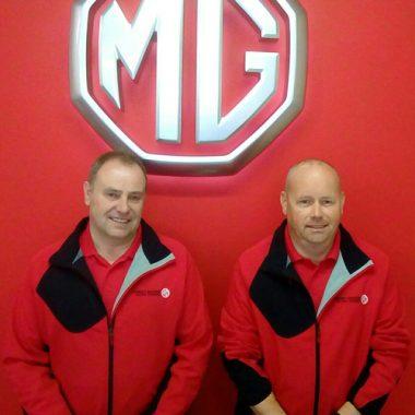 John Newey (Sales Director) & John Hopson (Sales Executive)