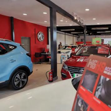 Summit Garage new showroom inside Aug 2021